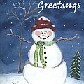 Holiday Greetings by Suzanne Theis