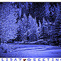 Holiday Greetings - Vail - Colorado by Madeline Ellis