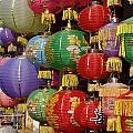 Chinese Holiday Lanterns by Ian Mcadie