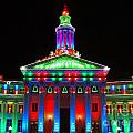 Holiday Lights 2012 Denver City And County Building G1 by Feile Case