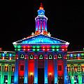 Holiday Lights 2012 Denver City And County Building G2 by Feile Case