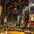 Holiday Lights In Denver Colorado by Teri Virbickis