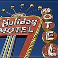 Holiday Motel Las Vegas by Edward Fielding