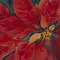 Holiday Poinsettia by Cynthia Roudebush