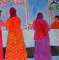 Holiday Shoppers On Prince Island by Eileen Tascioglu