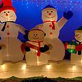 Holiday Snowmen 2 by Richard J Cassato