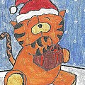 Holiday Tiger by Fred Hanna