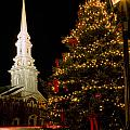 Holiday Time In Market Square. by Jeff Sinon