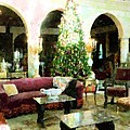 Holiday Time Inside Ringling by Florene Welebny