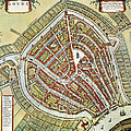 Holland: Gouda Plan, 1649 by Granger