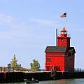 Holland Harbor Lighthouse by George Jones
