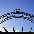 Hollis Gardens Entrance by Laurie Perry