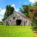 Holly Island Barn by Kevin Pugh