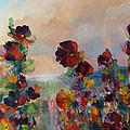 Hollyhock Heaven by Beverly Fagan Gilbertson