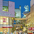 Hollywood And Highland Center Hoillywood Ca  by David Zanzinger