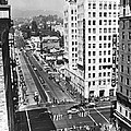 Hollywood And Vine In La by Underwood Archives