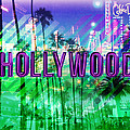 Hollywood Day And Night by Gina Dsgn