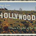 Hollywood Postcard by Bill Jonas