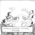 Hollywood Think Tank by Harry Bliss