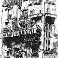 Hollywood Tower by Joyce Baldassarre