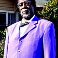 Hollywood Wearing His Dress Suit And Bow Tie Color Photo Usa by Sally Rockefeller