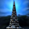 Hollywood Xmas Tree Walt Disney World by Thomas Woolworth