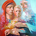Holy Family by Filip Mihail