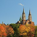 Holy Hill In Living Color by Red Cross
