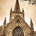Holy Trinity Stratford On Avon Sepia by Douglas Barnett
