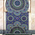 Holy Water Fountain Hassan II Mosque Sour Jdid Casablanca Morocco  by PIXELS  XPOSED Ralph A Ledergerber Photography