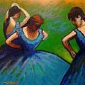 Homage To Degas II by John  Nolan