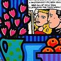 Homage To Lichtenstein by John  Nolan