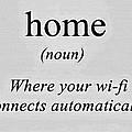 Home And Wifi by Florian Rodarte