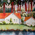 Home By The Lake by Blenda Studio