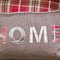 Home Cushion by Tom Gowanlock