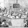 Home Economics Class, 1886 by Granger