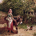 Home From Market by Edgar Bundy