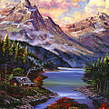 Home In The Mountains by David Lloyd Glover