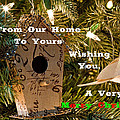 Home In The Tree W Text by Don Durante Jr