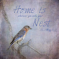Home Is Wherever You Make Your Nest by Jai Johnson