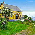 Home Near Halls Harbour-nova Scotia  by Ruth Hager