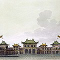 Home Of A Rich Individual In Peking by Italian School