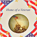 Home Of A Veteran by Charles Ott