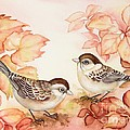 Home Sparrows by Inese Poga