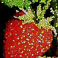 Homegrown Strawberry Mosaic by Chris Berry