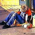 Homeless In Seattle by John Malone
