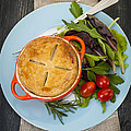 Homemade potpie by Elena Elisseeva