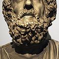 Homer  by Greek School