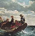 Homer, Winslow 1830-1910. Breezing Up A by Everett