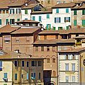 Homes In Cortona by David Letts